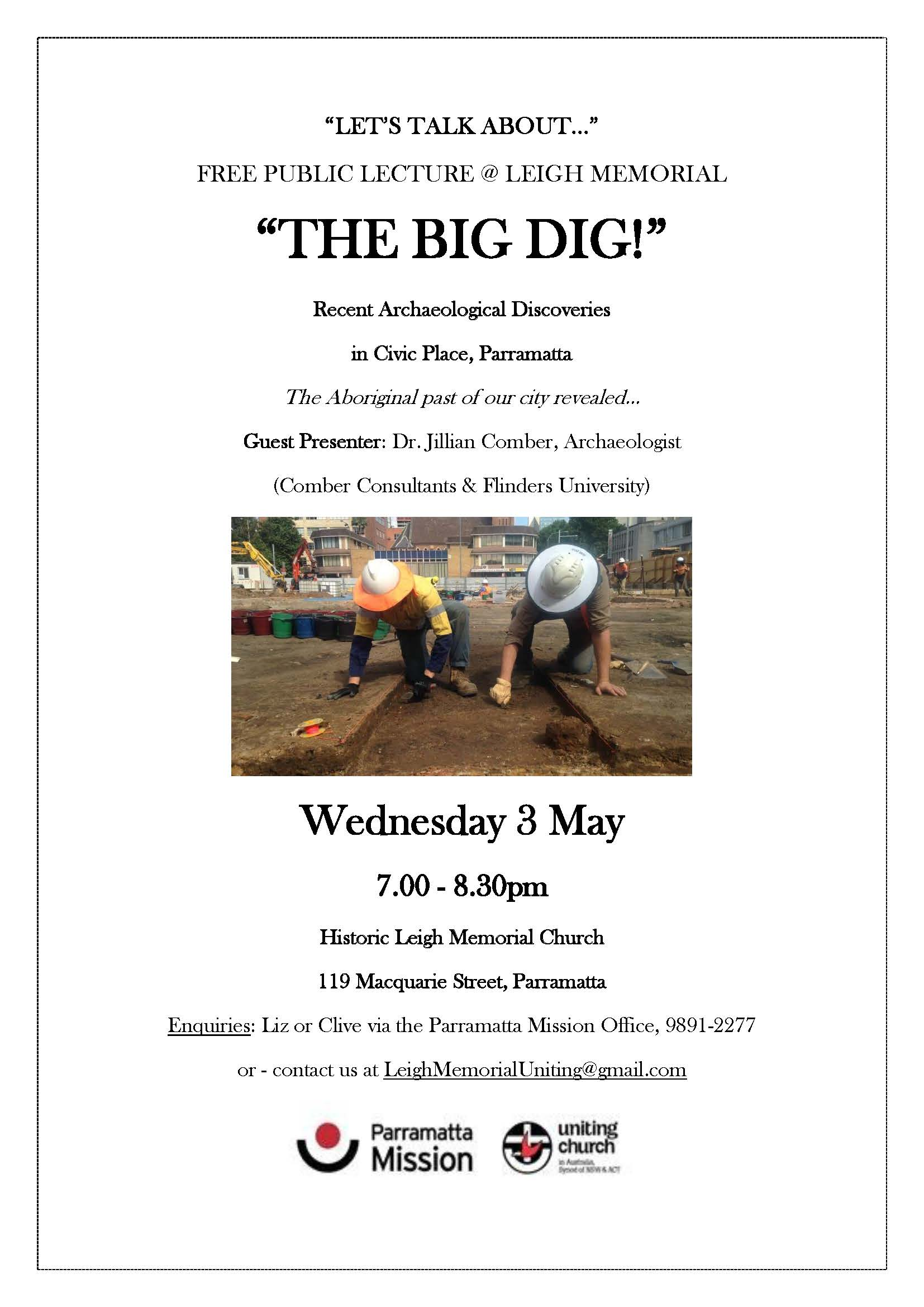SPECIAL EVENT - THE BIG DIG docx UPDATED VERSION docx (A)